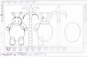 Учимся рисовать. Развивающее пособие для детей 4-6 лет